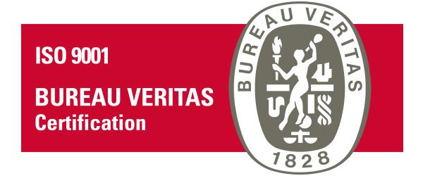 Certificazione ISO 9001 BUREAU VERITAS 2018 del Centro PMA Palmer.