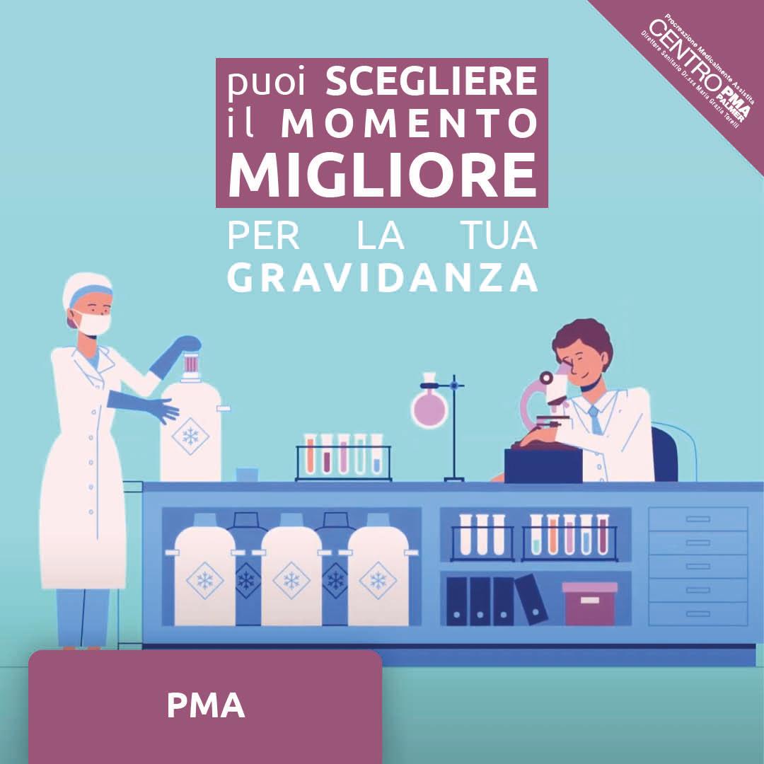 Campagna Social Freezing del Poliambulatorio Privato Centro PMA Palmer a Reggio Emilia e Rubiera. post 2