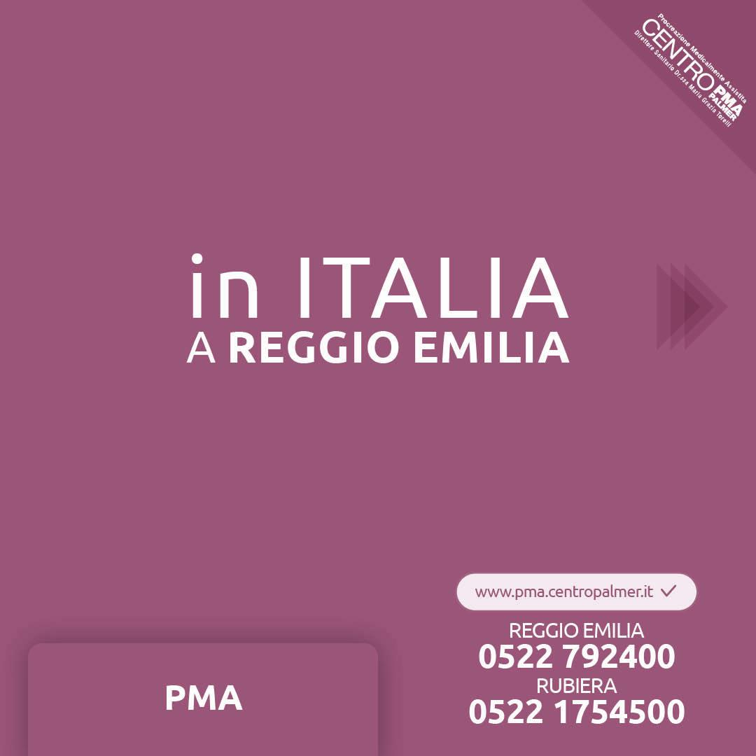 Campagna Donazione Ovociti del Poliambulatorio Privato Centro PMA Palmer a Reggio Emilia e Rubiera. post 2