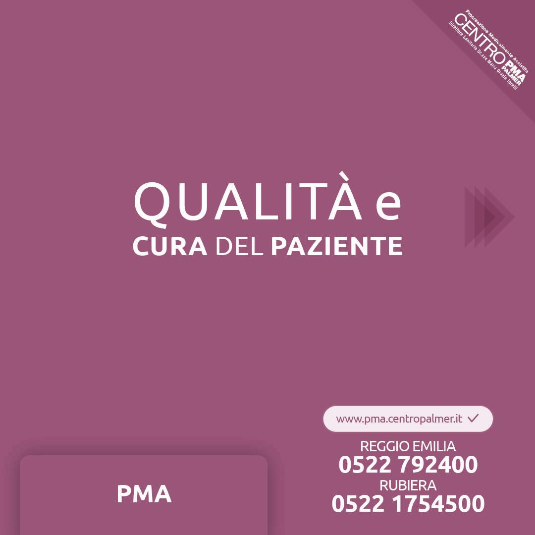 Campagna Donazione Ovociti del Poliambulatorio Privato Centro PMA Palmer a Reggio Emilia e Rubiera. post 3